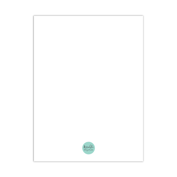 Tempura Design Notebook A5 Size 80 Plain Pgs