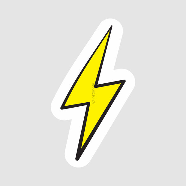 Lightening  - Buy Removable Vinyl Stickers in India