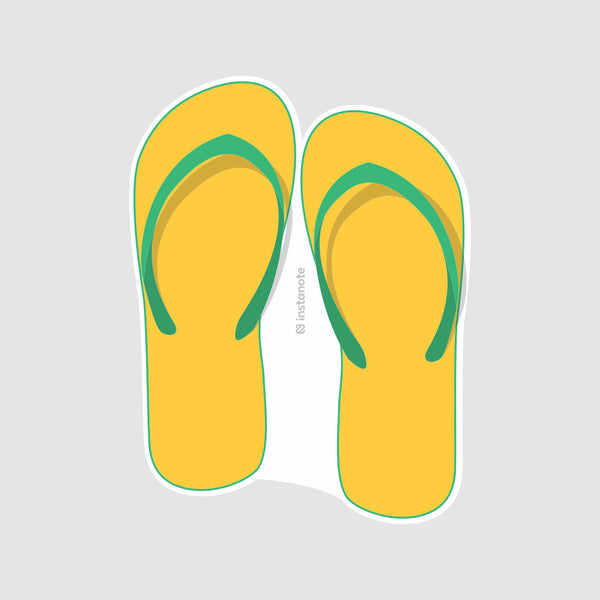 FlipFlop  - Buy Removable Vinyl Stickers in India