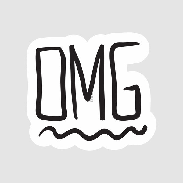 O M G  - Buy Removable Vinyl Stickers in India