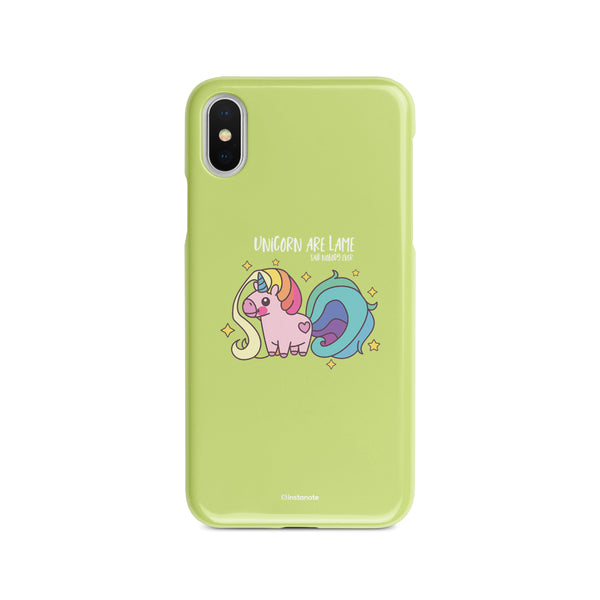Unicorns are Lame -  Buy iPhoneX  Mobile Cover in India