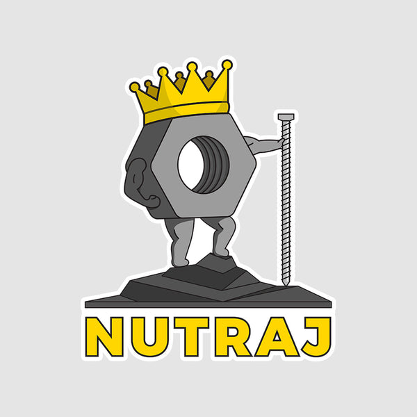 Nutraj  - Buy Removable Vinyl Stickers in India
