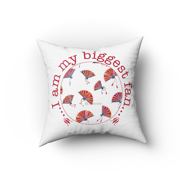I Am My Biggest Fan - Buy Cushion Covers Online in India