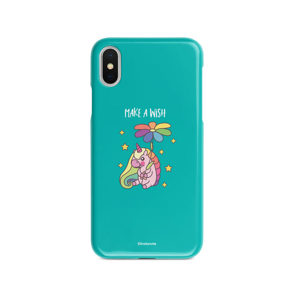 Make a Wish Unicorn - Buy iPhoneX  Mobile Cover in India