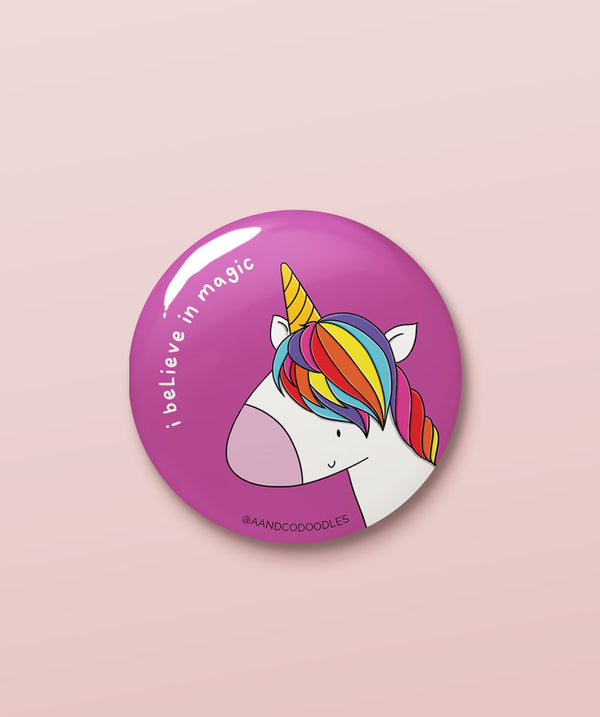 I Believe in Magic – Buy cool quirky badges in India