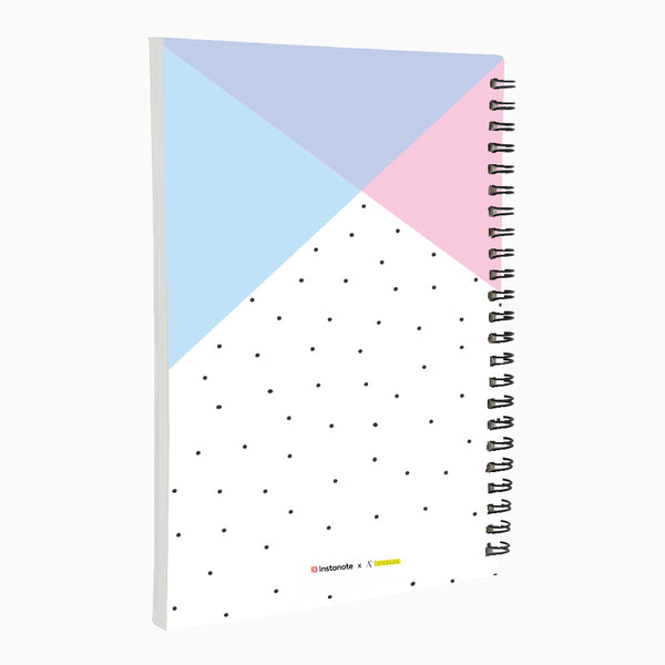 Live Love Repeat - Non Dated Daily Planner A5 Size 80 Pages