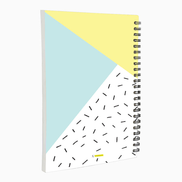 Ideas and Stuff A5 Wiro Notebook  160 Pages