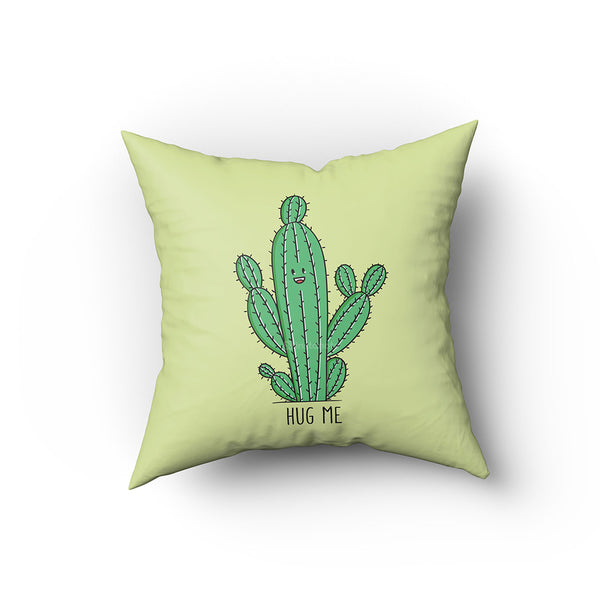 cactus hug me quirky gifts cushion covers