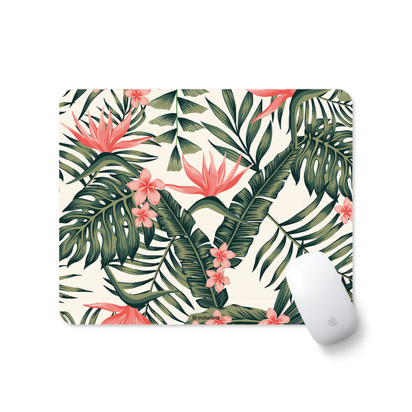 tropical designer mouse pad for pc laptop gaming