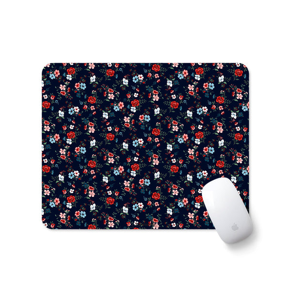 floral quirky cool designer mouse pad for girls office