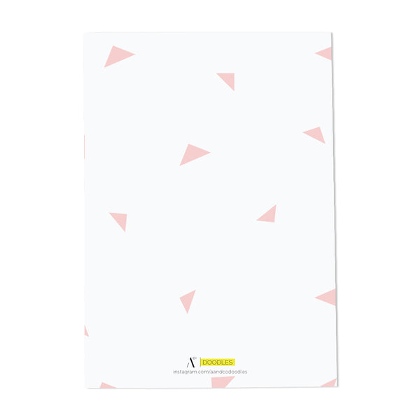 Oh Happy Day Notebook (Pink)