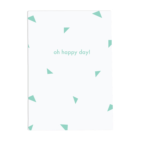 Oh Happy Day Notebook (Green)