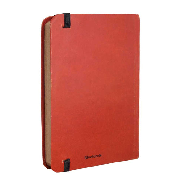 InstaNote Handmade Sketchbook for Artists - Hardbound Cover Indian Khakhi A6 112 Pages Inside (I'm my Own Boss)