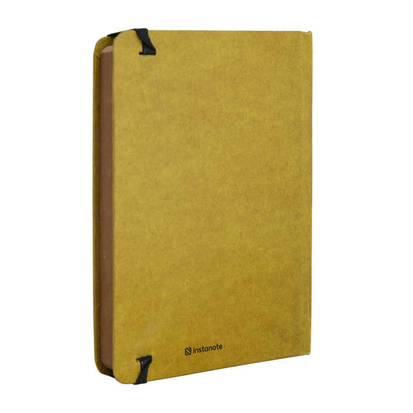 InstaNote Handmade Sketchbook for Artists - Hardbound Cover Indian Khakhi A6 112 Pages Inside (Yes Girl)