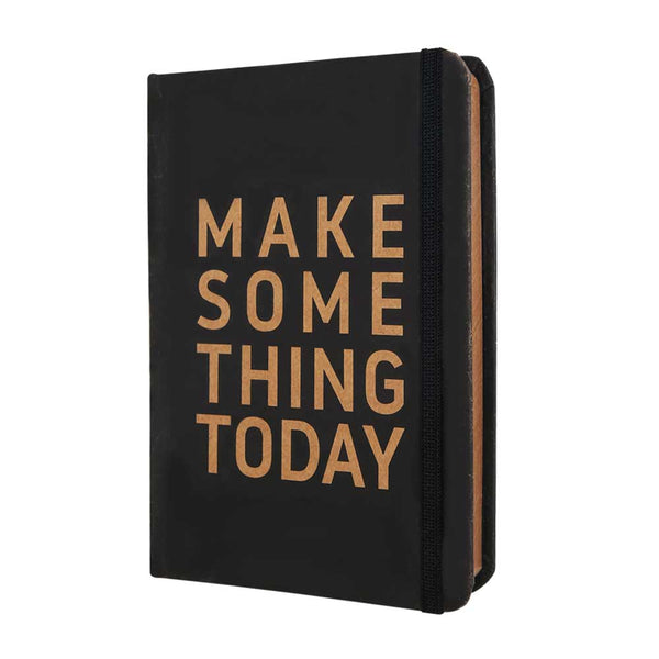 InstaNote Handmade Sketchbook for Artists - Hardbound Cover Indian Khakhi A6 112 Pages Inside (Make Something Today)