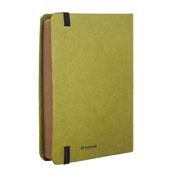 InstaNote Handmade Sketchbook for Artists - Hardbound Cover Indian Khakhi A6 112 Pages Inside (Everyting Begins With An Idea)
