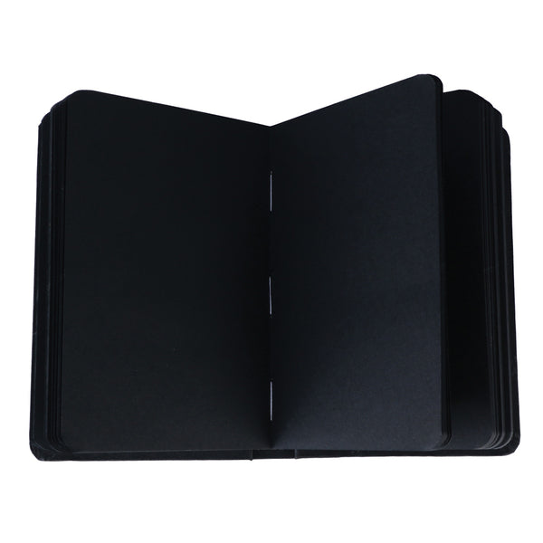 black pages notebook sketchbook