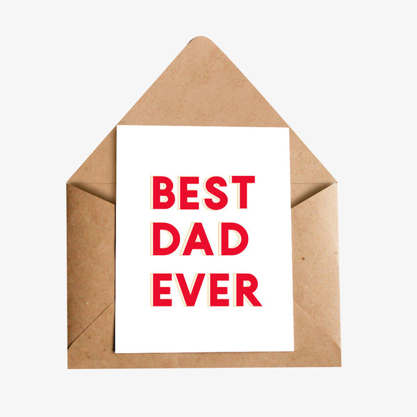 fathers day greeting card for dad
