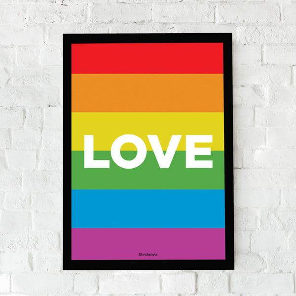 Love -  - Framed Poster