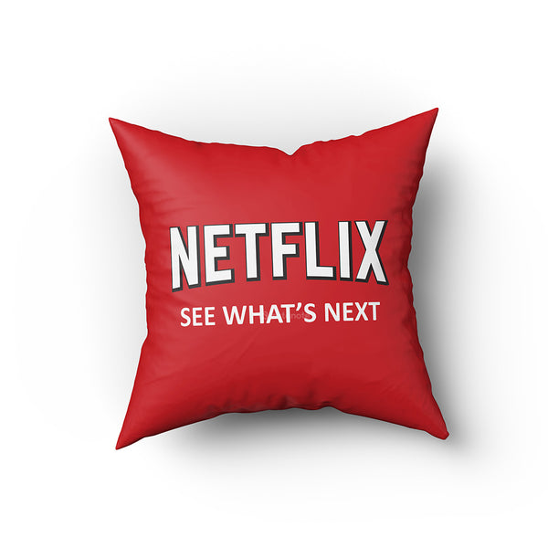 Netflix See What's  Next - Buy Cushion Covers Online In India