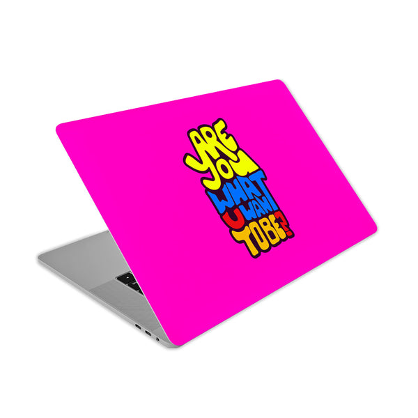 Are Your Ready What You Want To Be Quirky Cool Laptop sticker skin in India