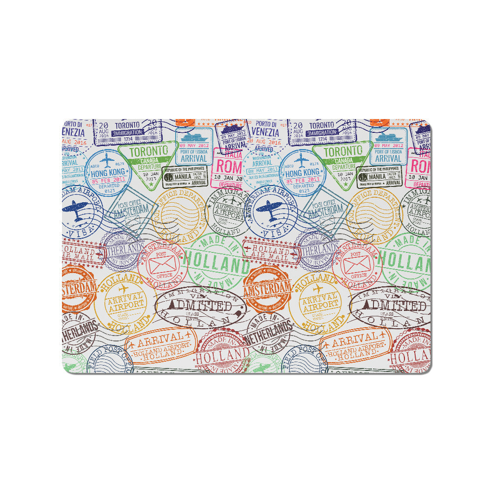 Travel Vector Buy Cool Quirky Laptop Skins Stickers Online In India