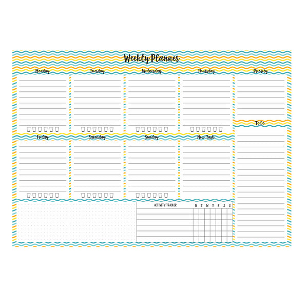 weekly planner pad quirky stationery online in India