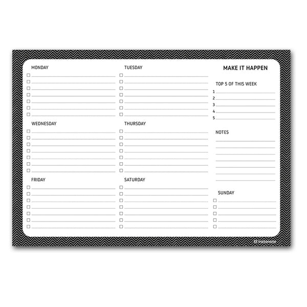 weekly planner pads quirky stationery india brand