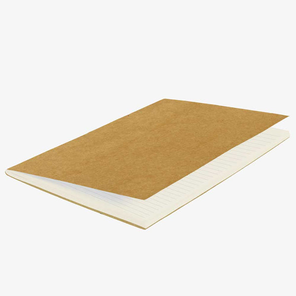 Ruled Pages Brown Kraft Notebooks – Pack of 2