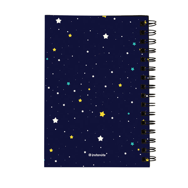 Non Dated Daily Planner A5 Size 160 Pages - Stay Wild Unicorn Child
