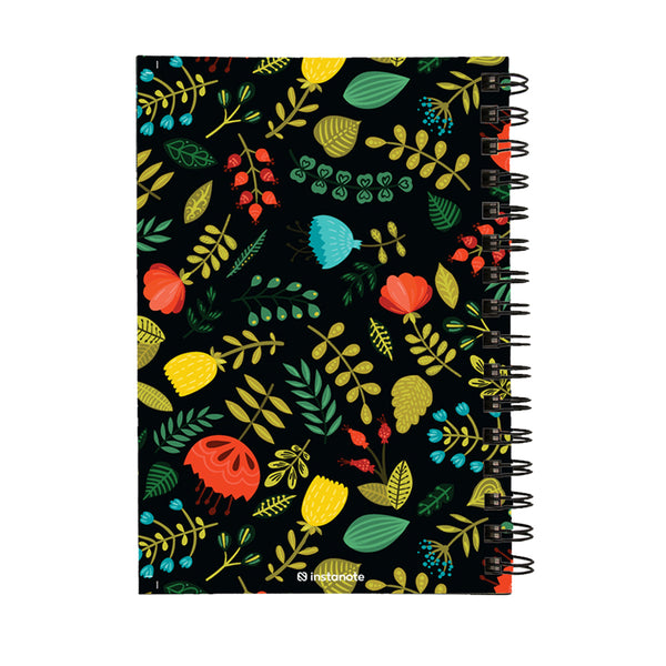 Feed Your Soul  NonDated Daily Planner A5 Size 160 Pages