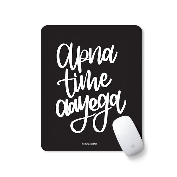 mousepad with motivational quirky quote
