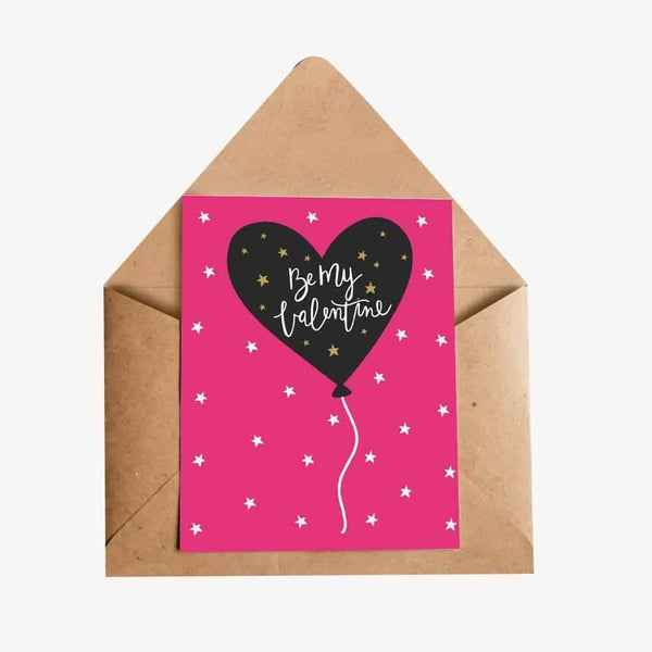 love valentine greeting card