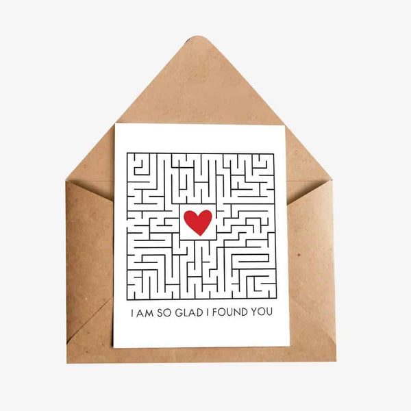 I am So Glad I Found You Greeting Card