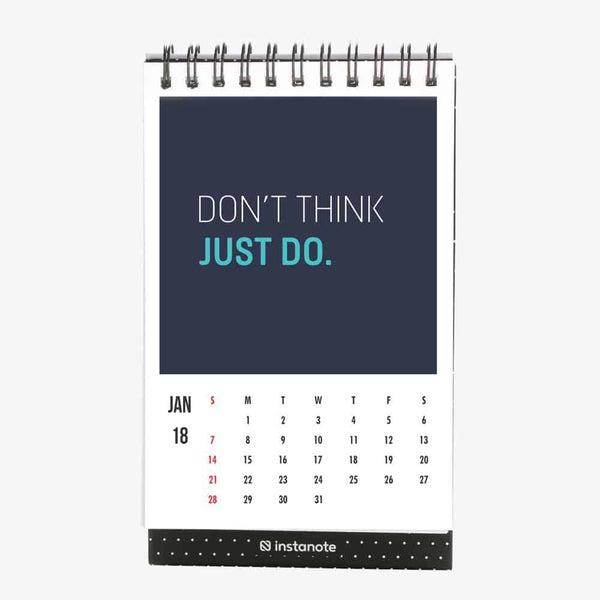 Desk Calendar 2018 with Motivational Inspirational Quotes