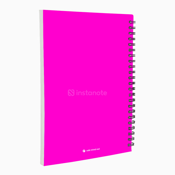 Are You What You Want to Be - Non Dated Daily Planner A5 Size 80 Pages