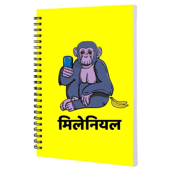 Millenial  - Non Dated Daily Planner A5 Size 80 Pages