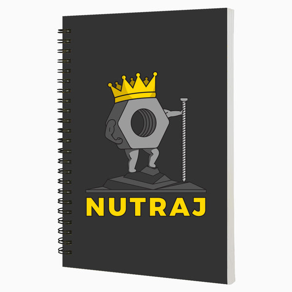 Nutraj  A5 Wiro Notebook  160 Pages
