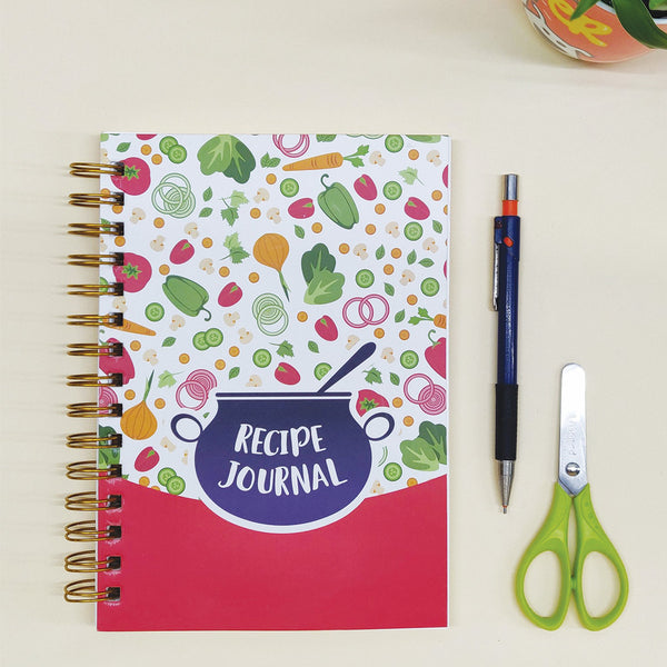 recipe journal in India quirky stationery