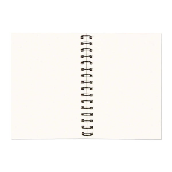 RED FAN - A5 Wiro Notebook  160 Pages