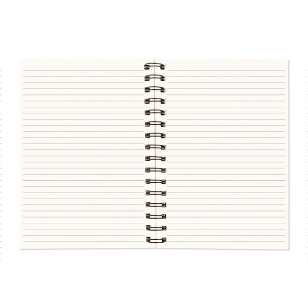 Good Things Take Time A5 Wiro Notebook  160 Pages