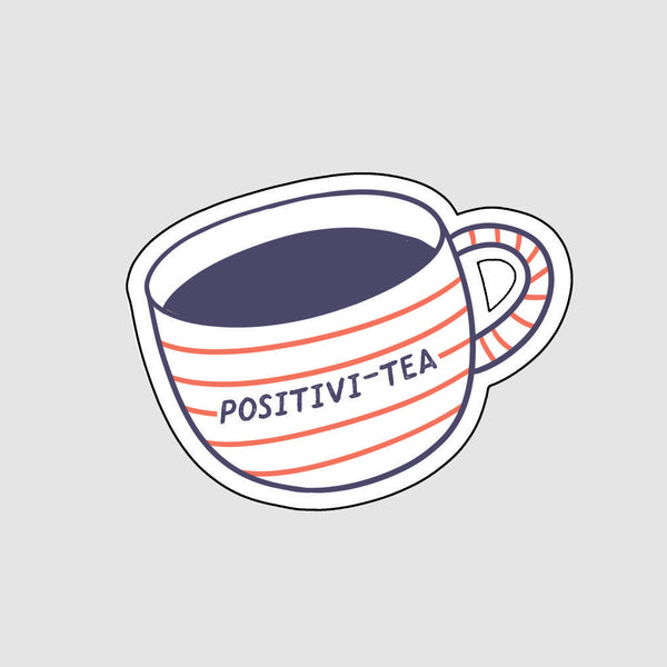 positivity removable vinyl stickers for laptop phone cars bikes