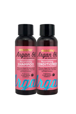 Argan Oil Shampoo and Conditioner Travel Set 50ml