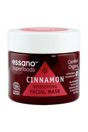 Superfoods Certified Organic Cinnamon Facial Detoxifying Mask 50g