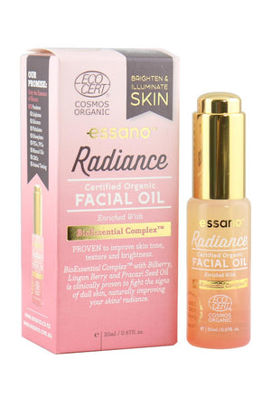 Certified Organic Radiance Facial Oil 20ml - Earliest Expiry Date: April 2021
