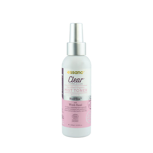 Clear Complexion Certified Organic Mist Toner 120ml