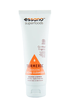Superfoods Certified Organic Turmeric Creme Cleanser 100ml - Expiry Date: September 2021