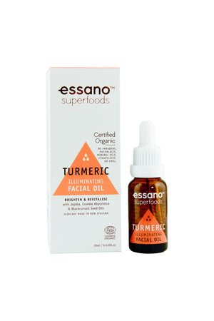 Superfoods Certified Organic Turmeric Illuminating Facial Oil 20ml