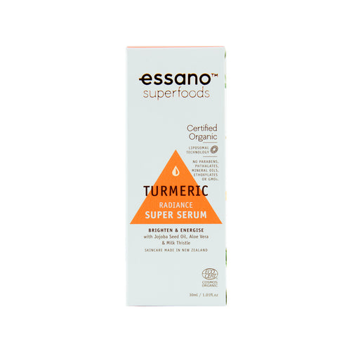 Superfoods Certified Organic Turmeric Radiance Super Serum 30ml - Expiry Date: October 2021