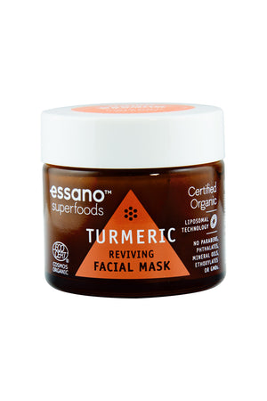 Superfoods Turmeric Certified Organic Reviving Facial Mask 50g